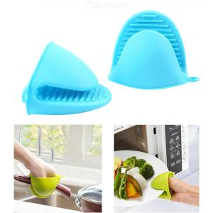 Heat Resistant Microwave Oven Silicone Gloves Anti-slip Oven Mitts Kitchen Baking Tools