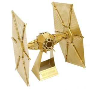 3D Metal Puzzle Assembled Toy, Vinda titanium fighter / Millennium Falcon / Miscellaneous Titanium Fighter / Vintage bicycle Toy