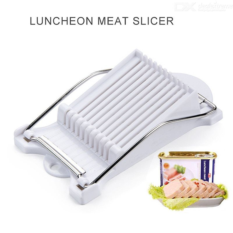 Luncheon Meat Slicer Boiled Egg Fruit Slicer Soft Food Cheese Sushi Cutter Canned Meat Cutting Machine