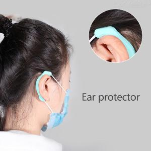 1 Pair Reusable Silicone Ear Caps For Mask, Comfortable Earloop Cover Retainer Ear Protector Mask Hook