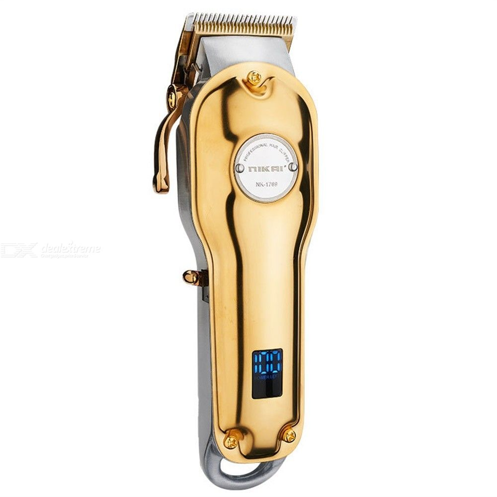 Mens Electric Hair Clippers Professional Rechargeable Hair Trimmer