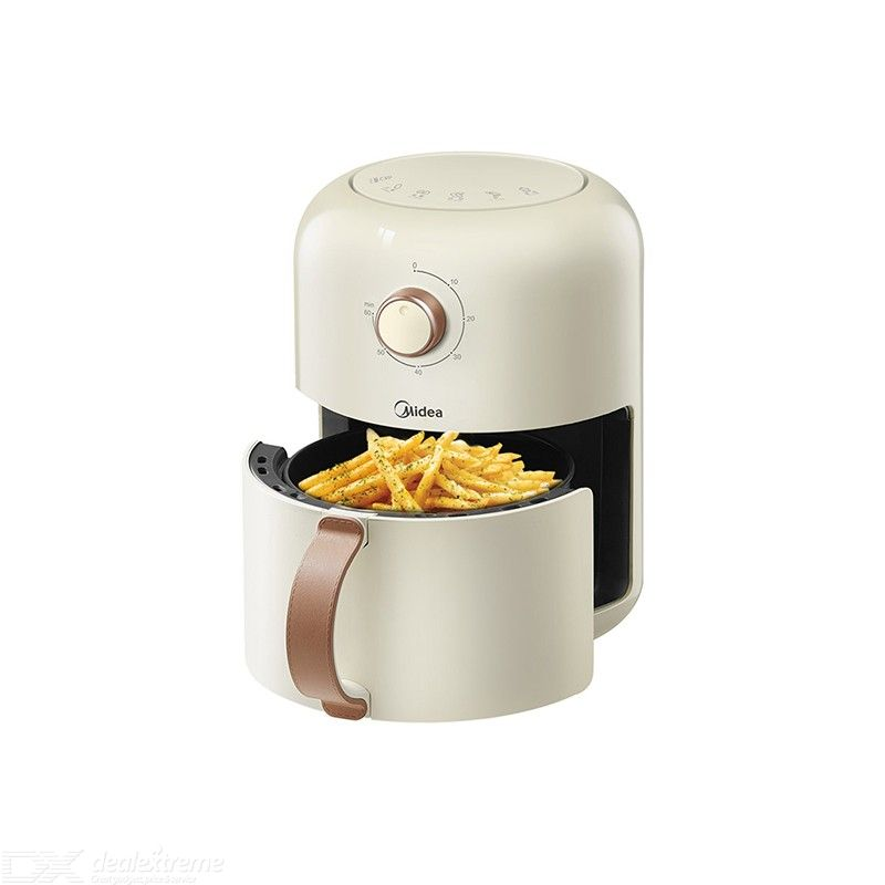 Midea MF-KZ18E101 Electric Air Fryer 1.8L 1230W Multifunctional Oven Oilless Cooker Non Stick Hot Air Fryer With 060 Mins Timer