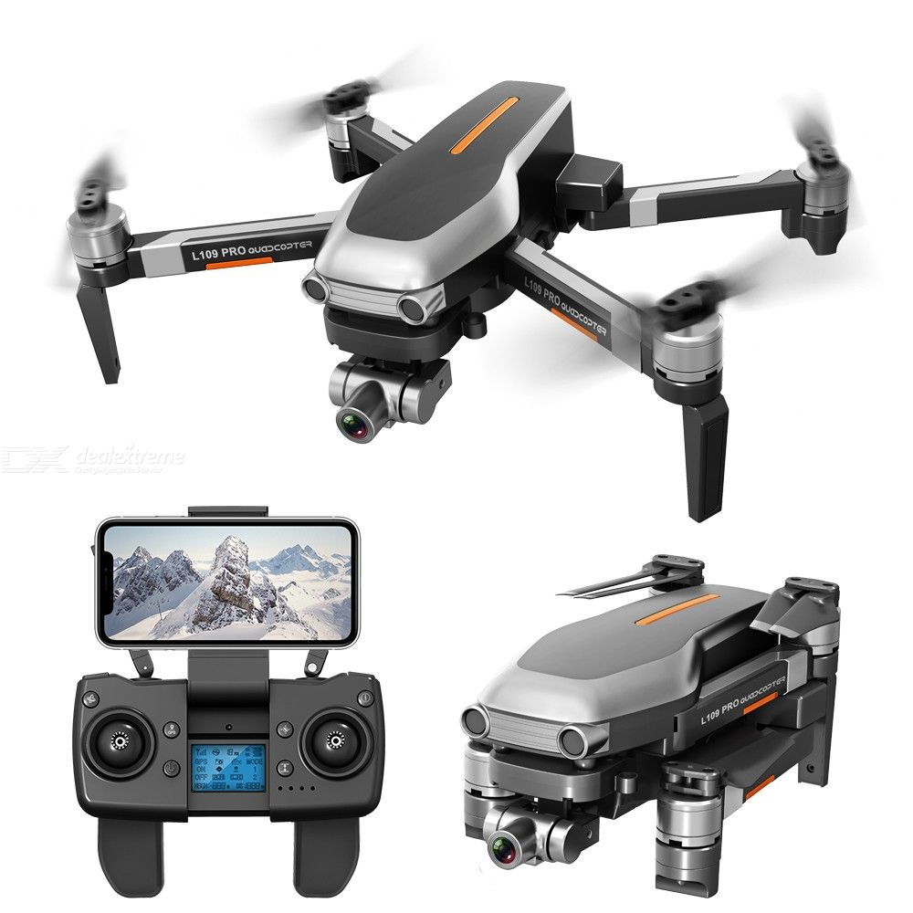L109 Pro Drone With Camera 4K WiFi 5G GPS Quadcopter With One Key Takeoff Land Return Headless Mode