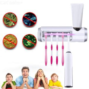 Wall-Mounted Toothbrush UV Disinfection Box Household Toothbrush Sterilizer