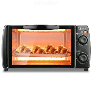 Midea T1-L108B Mini Oven 10L Toaster Oven Electric Oven With Temperature Setting 70-230  And 30 Mins Timer