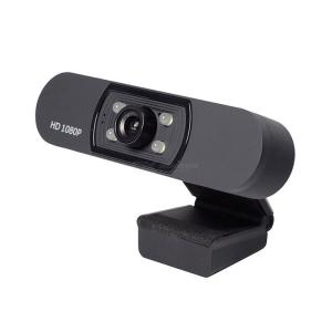 HD Webcam 1080p Laptop Desktop Camera With Refill Light  For Online Class Conference Call Live Streaming