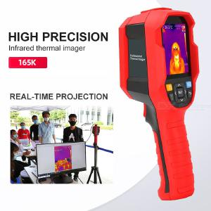 UNIT Body Infrared Thermal Imager Thermometer Temperature Meter, High Resolution Human Pyrometer Thermal Camera Live Display