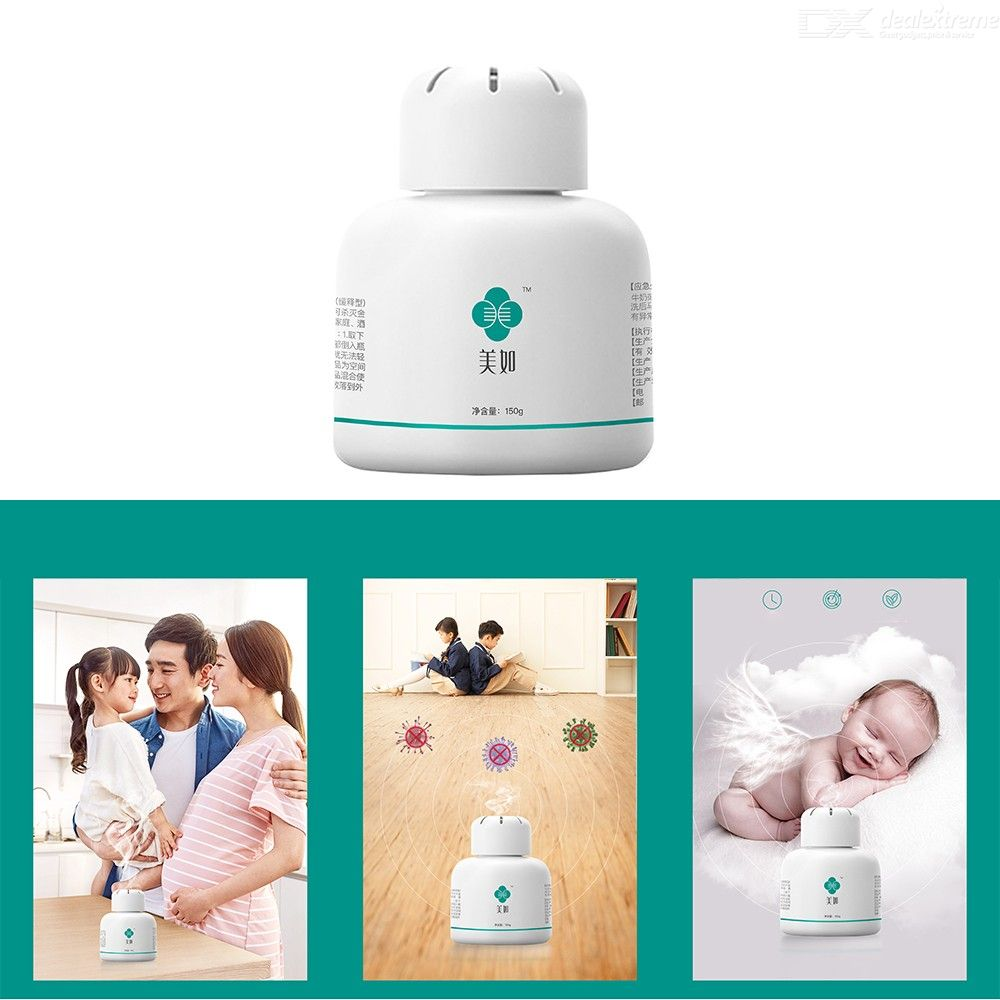 Air Purification Sterilization Disinfectant Slow-Release Chlorine Dioxide Sterilization Granules For Home Office School Hotel