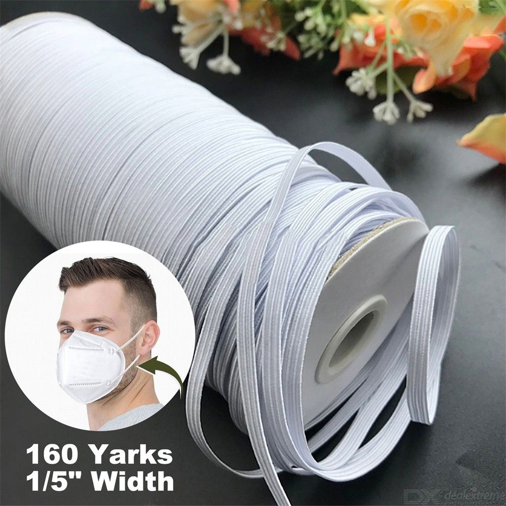 Elastic Loose-tight Tie For Face Mask Pain-free Strip Comfort Mouse Mask Extension Line