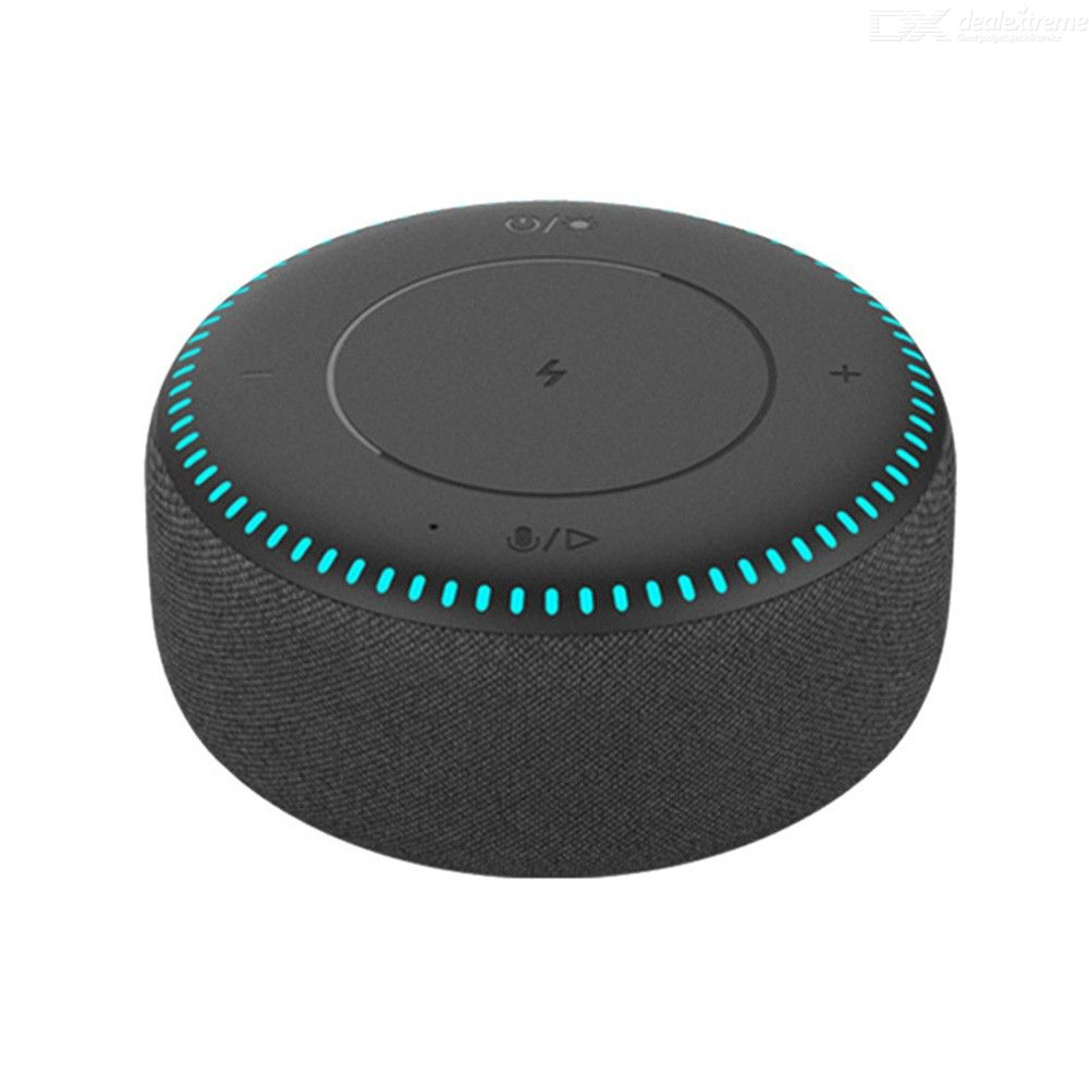 Xiaomi ZMI 20W Wireless Charger Speaker Bluetooth 5.0 With 7 Color Lights IoT Support - Black