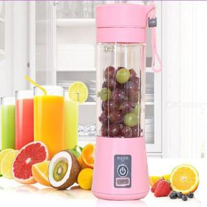 Portable Electric Vegetable Fruit Juicer USB Rechargeable Mini Galss Blender Cup for Home Travel