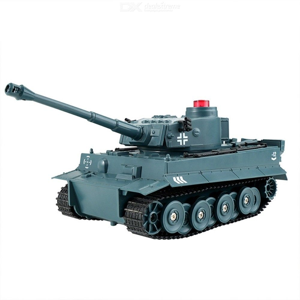 Q85 Remote Control Tank 1:30 RC Military Car With Rotating Turret And Sound