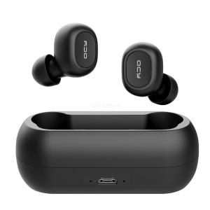 QCY T1C TWS 5.0 Bluetooth headphone 3D stereo wireless earphone with dual microphone