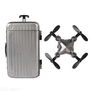 Foldable Mini Suitcase FPV Drone For Kids With HD Camera RC Quadcopter