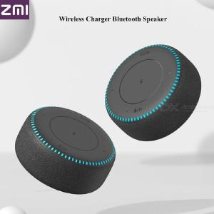 Portable Speaker 2-in-1 Bluetooth Speaker Subwoofer Wireless Charger Support 18W Fast Charging