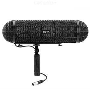 BOYA BY-WS1000 Microphone Blimp Windshield Suspension System with XLR Cable for 20-22mm Diameter Shotgun Microphones for Canon