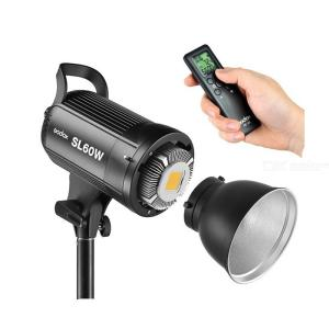 Godox SL-60W 5600K 60W High Power LED Video Light Wireless Remote Control with Bowens Mount for Photo Studio Photography Video