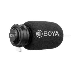 BOYA BY-DM100 / DM200 Digital Stereo Cardioid Condenser Microphone Superb Sound for Android USB Type-C Iphone Devices Recording