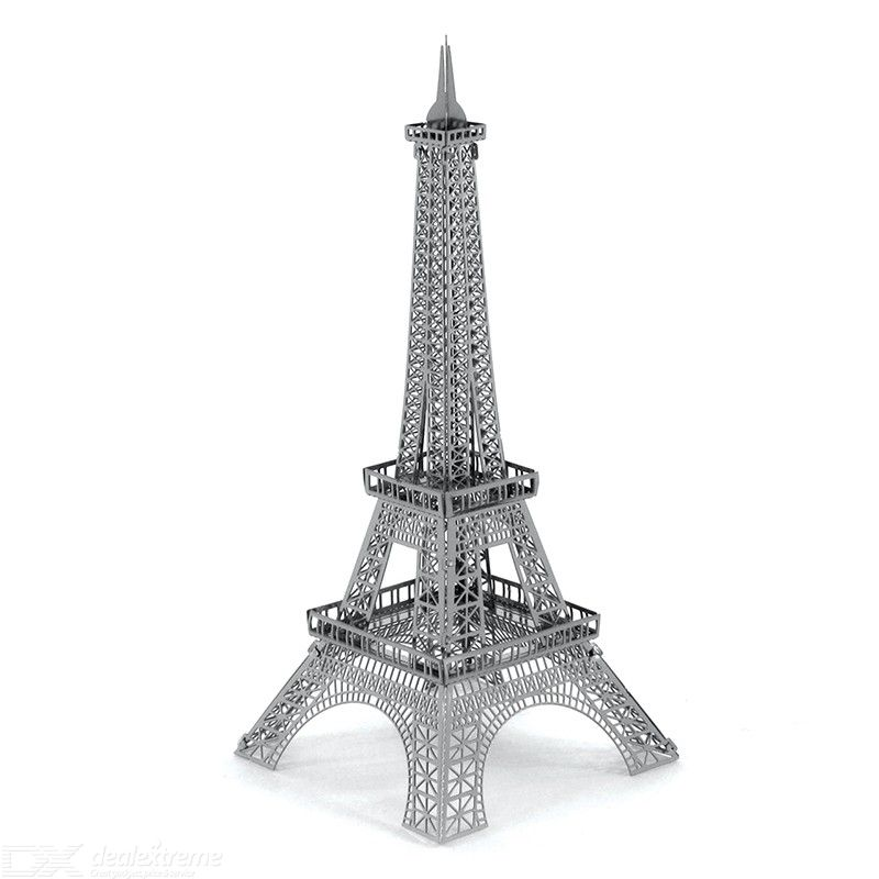 DIY 3D Metal Assembly Model Paris Tower Educational Toy Puzzle