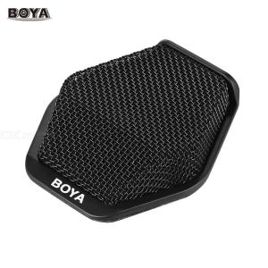 BOYA BY-MC2 Super-cardioid Condenser Conference Microphone with 3.5mm Audio Jack and 5V USB Interface 16ft Pickup Distance