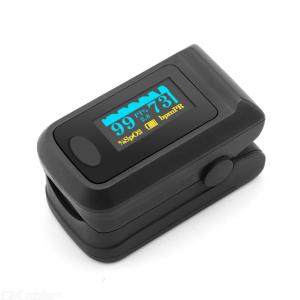 Portable Fingertip Pulse Oximeter LCD Display Digital Oxygen Meter Clip Type SPO2 For Household Use