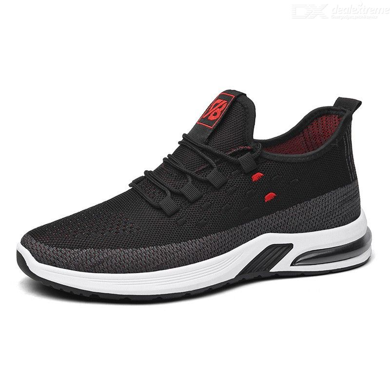 Mens Casual Sneakers Adult Fashionable Breathable Low-Top Trainers Non-slip Running Shoes