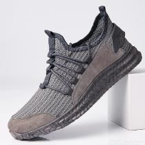 Mens Casual Sneakers Adult Fashionable All-match Breathable Mesh Shoes Low-Top Trainers Running Shoes