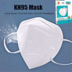 Breathable KN95 Respirator Filter Protection Dust Mask Light And Breathable Respirator Fresh 3D Fitting 10PCS