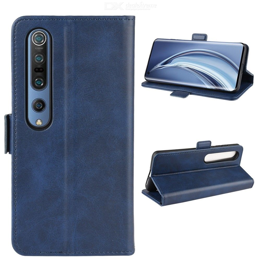 CHUMDIY Flip Case for Xiaomi 10/10 Pro PU Leather Wallet Phone Case Cover with Kickstand Function Card Cash Holder