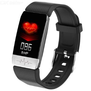 T1 Thermometer Bracelet Health Monitor Smart Watch Sports Record Waterproof IP67