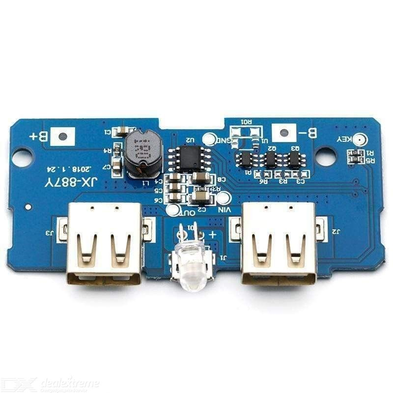 5V 2A Power Bank Charger Charging Circuit Board Step Up Boost Module