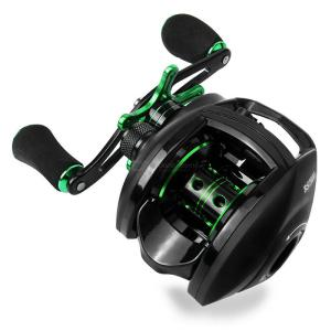 Baitcasting Bass Fishing Reel 8KG Max Drag Left Right Hand Reel For Freshwater Seawater