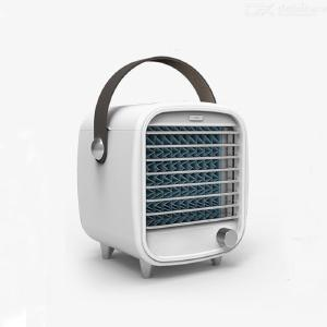USB Mini Portable Air Conditioner Silent Cooling Fan For Office Home