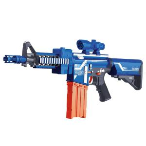 Soft Bullet Toy Assault Rifle Child Shooting Military Model-Battery