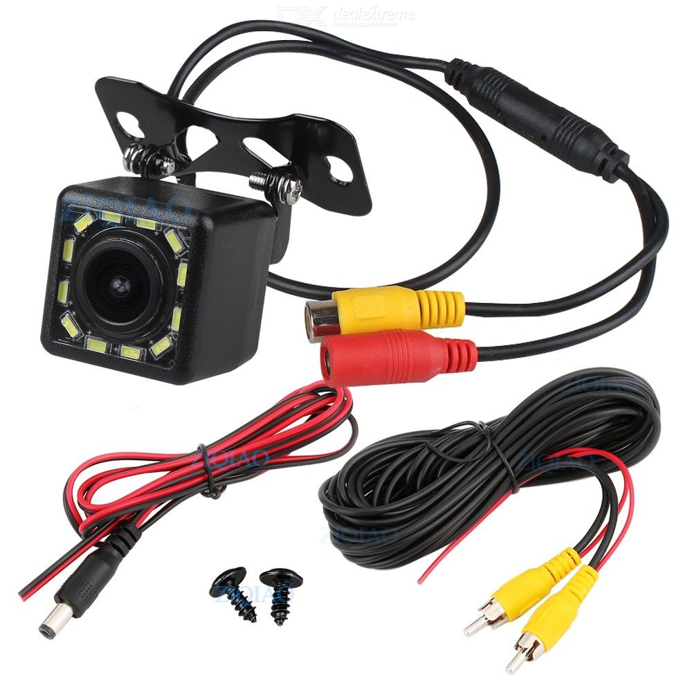 ZIQIAO HS084 Car Dynamic Trajectory Reverse Camera Dynamic Guide Line Auxiliary Parking Rear View Camera