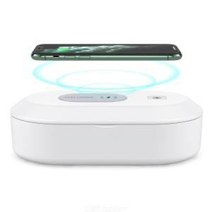 UV Phone Sanitizer Box Wireless Charger Portable Ultraviolet Disinfection Box With Aromatherapy Function 99 Sterilization Rate