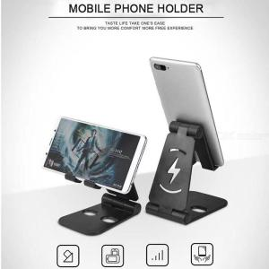 Group Vertical Universal Foldable Mobile Stand Plastic Desktop Desk Stand Holder Mount for Cell Phone Tablet Pad