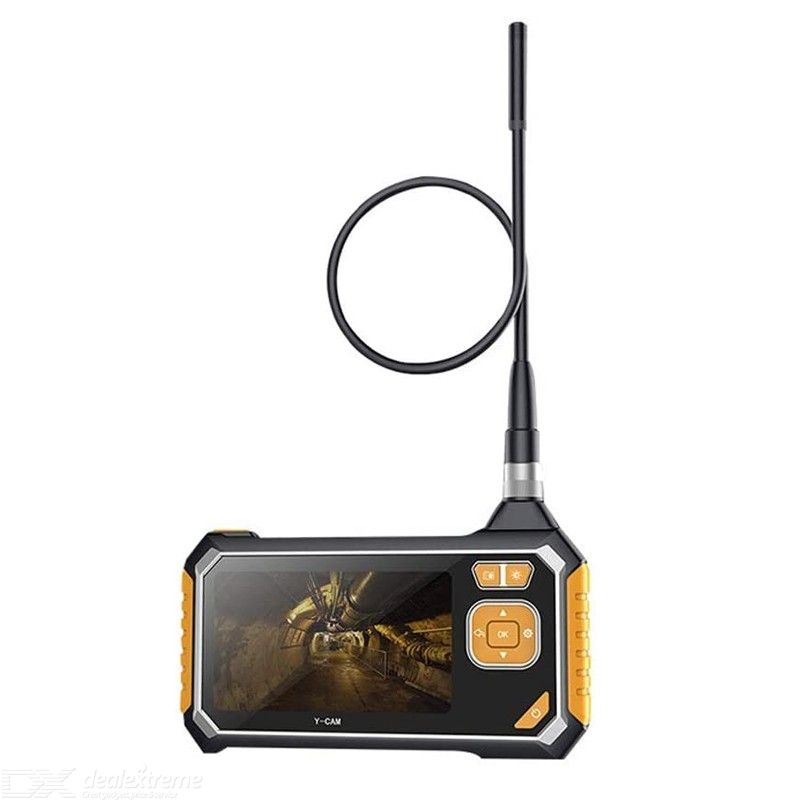 Wireless Endoscope, 4.3 Inch Display 1080P 2.0MP Inspection Camera for Auto Repair Tool Handheld WiFi Industrial Endoscope