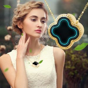 Maozhong 4-leaf Grass Necklace Model Portable Anion Air Purifier Formaldehyde Secondhand Smoke PM2.5 Sterilizer