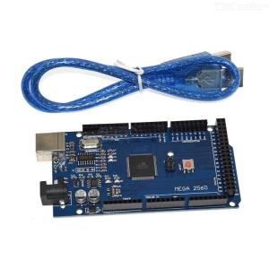 Arduino MEGA 2560 R3 Dev Board with Genuine ATMega2560 Includes USB Cable