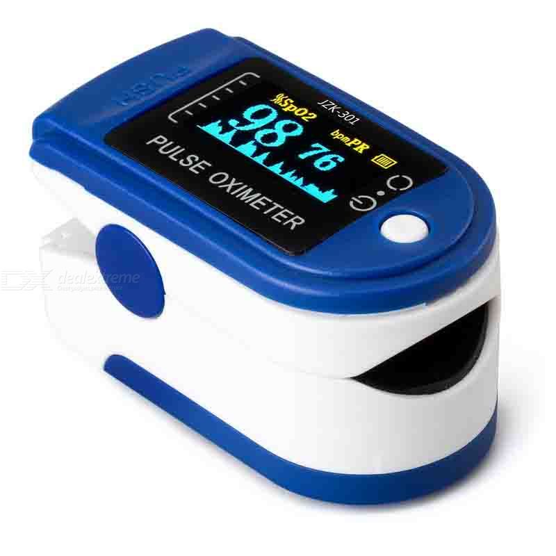 Professional Pulse Oximeter Fingertip Pulsioximetro Oled Heart Rate Monitor