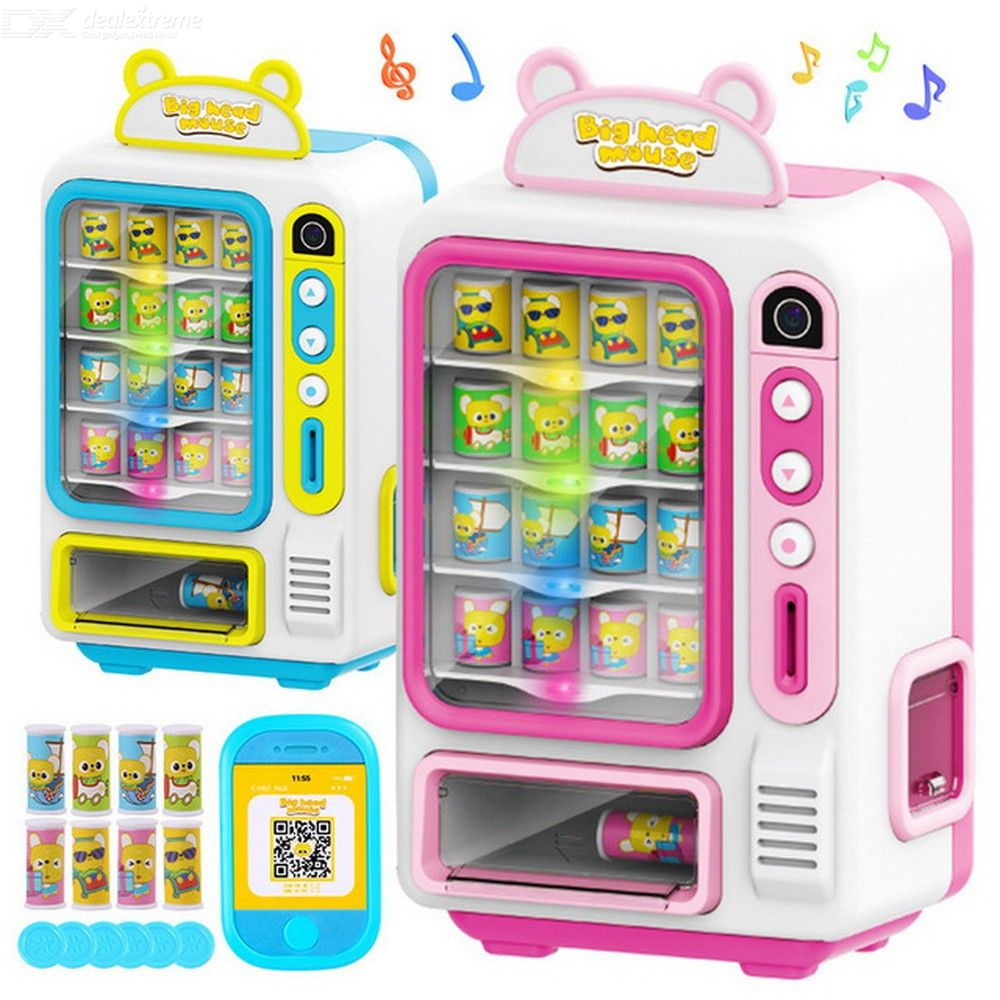 Vending Machine Toys Simulation Shopping Game House Set 0-3 Years Old Baby Game Toys Give Children The Best House Gifts