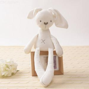 Plush Toys Rabbit Doll For Kids Soft Comfort Toy Stuffed 100 Cotton