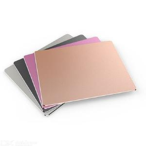 Non-Slip Thin Aluminum Alloy Gaming Mouse Pad - S (240x180mm)