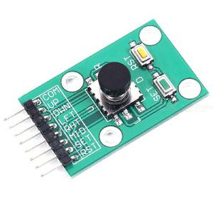 Five-Way Navigation Button Module for 5D Joystick Independent Keyboard Switch