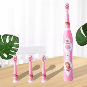 Cartoon Children Soft Waterproof Electric Toothbrush USB Rechargeable Tooth Brush