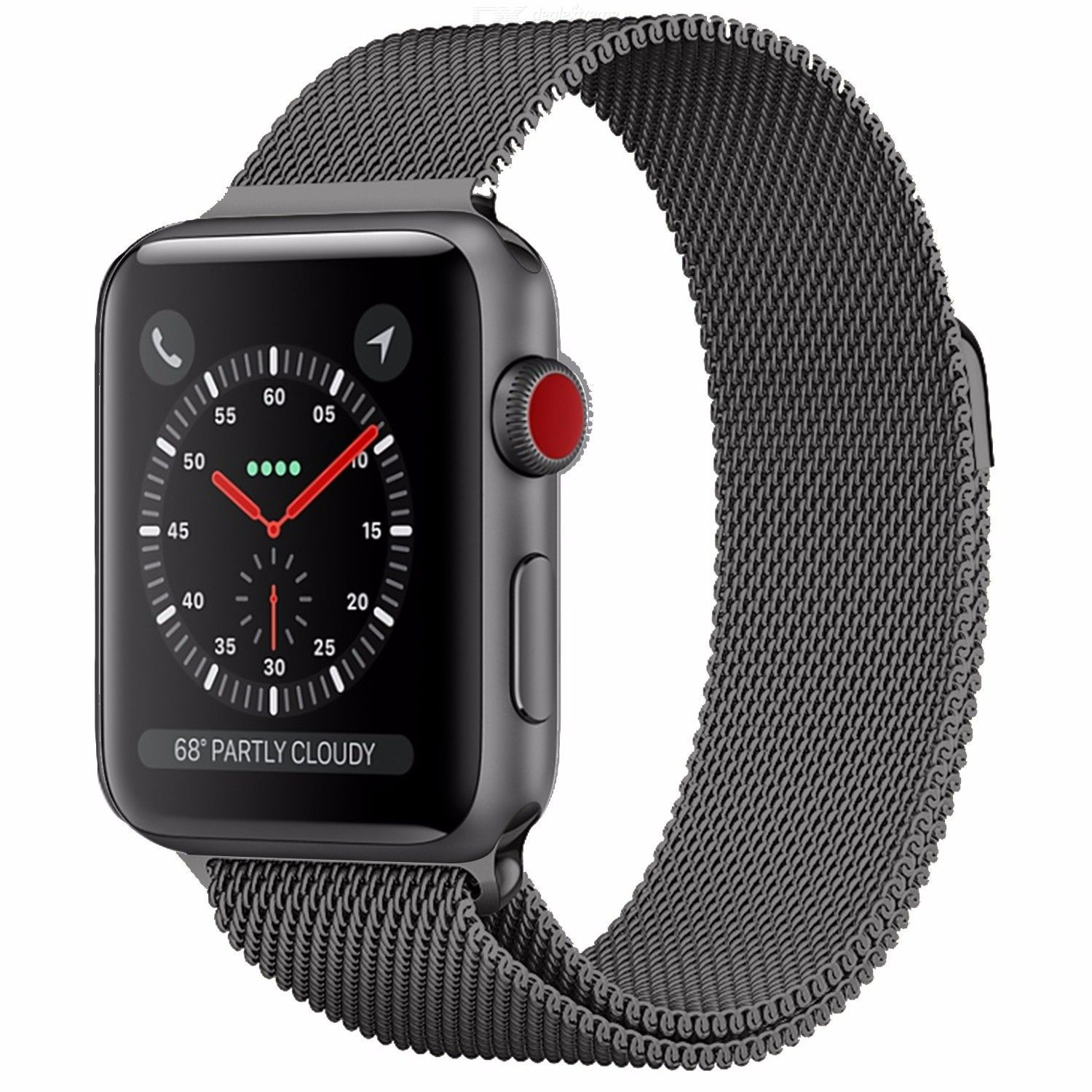 Milanese Loop Strap For Apple Watch 44mm 40mm 38mm 42mm, Stainless Steel Magnetic Watch Band for iWatch 1 2 3 4 5