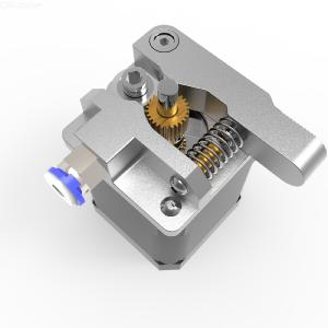 Silver Gray Metal Extruder Upgrade Kit for 3D Printer