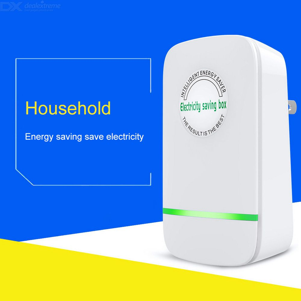 Electricity Saving Box Electric Energy Saving Device Power Saver Device EU / UK / US Plug 90-240V