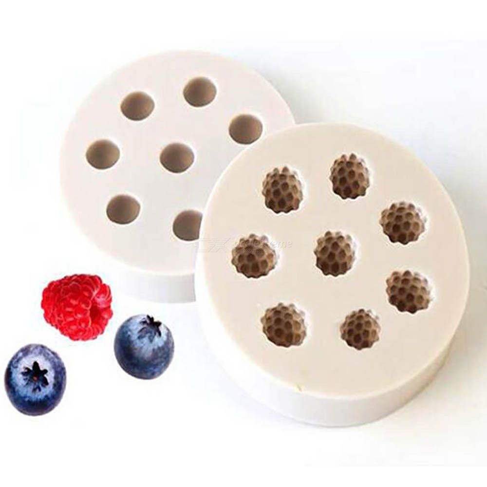Raspberry Blueberry Silicone Cake Mold Kitchen Sugar Baking Mold Craft sugar cake decoration tool chocolate pastry tool